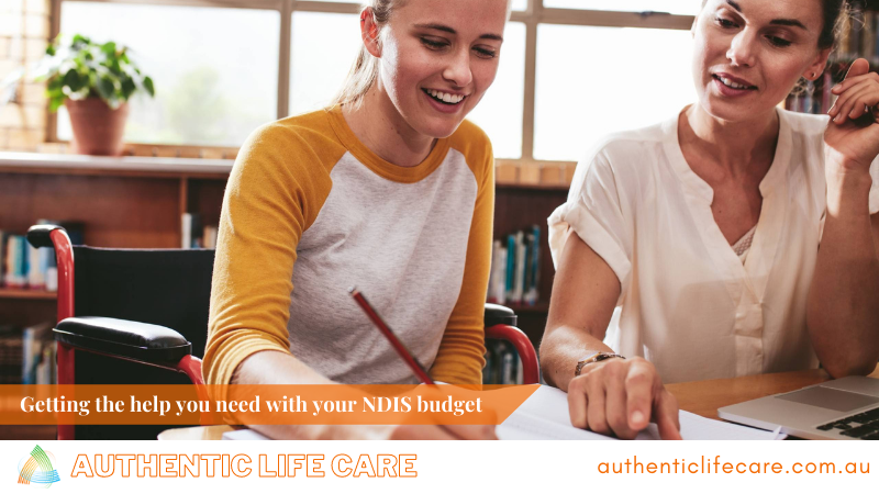 Getting the help you need with your NDIS budget
